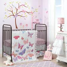 Curly Tails Crib Bedding Decoration Curly Tails Crib Bedding Butterfly Garden 8