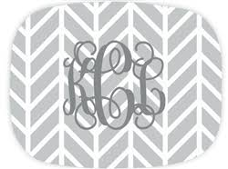 monogrammed serving platter i this because someone me monet gauthier preppy