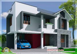 Modern Three Bedroom House Plans - kerala style modern mix 3 bedroom house home appliance
