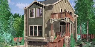 level house narrow lot house plans building small houses for small lots