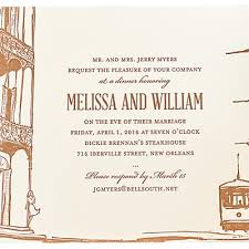 what to say on a wedding invitation 8 invitations that will make your guests say i do new orleans