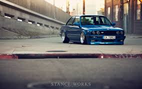 bmw e30 stanced unexpected intentions u2013 catuned u0027s bmw e30 325is stanceworks com