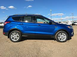 Ford Escape Blue - new 2018 ford escape 4 door sport utility in edmonton ab 18sc5803