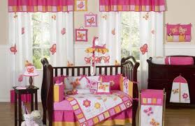 Nursery Bedding And Curtains by Elegant Illustration Bonus Outdoor Drapery Panels Gratifying