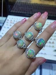 natural gem rings images Natural transparent opal ring natural gemstone watch shop jpg