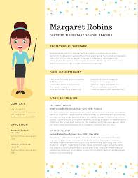 creative teacher resume templates emphasize career highlights on your resume by using color image12