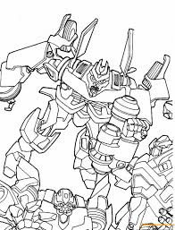 Megatron Fighting Bumblebee Coloring Page Free Coloring Pages Online Bumblebee Coloring Pages