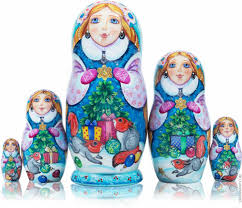 russian nesting dolls jewelery easter eggs watches christmas