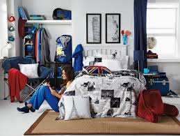 Passport Bed Set Tiny College Spaces Can Pack Substantial Personal Style