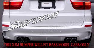 2002 bmw x5 accessories custom bmw x5 rear bumper sarona