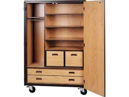 72 Storage Cabinet Mobile Wardrobe Storage Closet 3 Shelves 4 Drawers 72