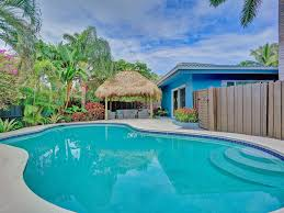 4br heated pool home with tiki hut 4427497