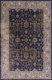 kas jasmine 3756 ivory black vintage area rug