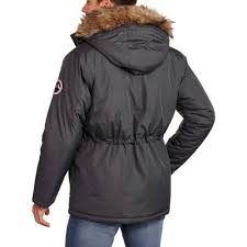 swiss tech men s heavy weight parka jacket walmart