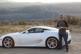 lexus lfa in south africa the director of