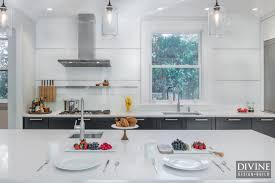 kitchen design trend the glass kitchen backsplash
