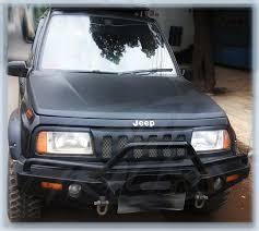 sidekick jeep suzuki vitara escudo sidekick bumper depan 280314 fourtrack