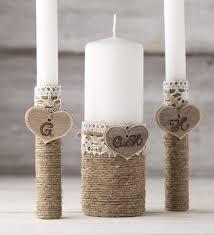 personalize candles personalized unity candle set wedding unity candles unity ceremony