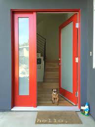 cool what does it mean to paint your front door red contemporary