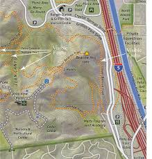 griffith park map map of some visible faults near beacon hill in griffith park los