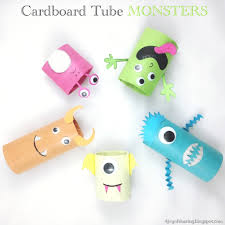 pictures of halloween monsters the joy of sharing cardboard tube monsters halloween craft
