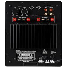 amplifier for home theater subwoofer dayton audio sa100 100w subwoofer plate amplifier