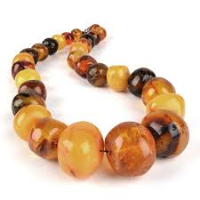amber bead bracelet images Russian antiques antique large amber nugget beads necklace the jpg