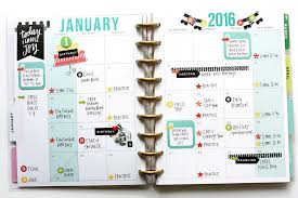 the planner january 2016 me my big ideas
