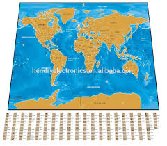 Scratch Off World Map List Manufacturers Of Travel Map Deluxe Travel Scratch Buy Travel