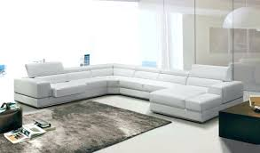 Leather Sectional With Chaise And Ottoman White Leather Sectional Sofa With Ottoman T27c Modern Recliners