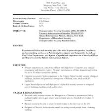 security guard resume sle resume for security guard position best professional