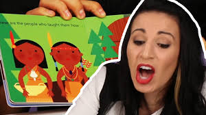 kids books about thanksgiving native americans review thanksgiving storybooks youtube