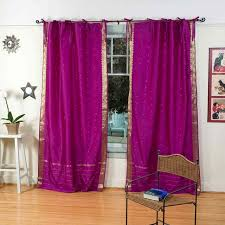 Bright Red Sheer Curtains 4 Piece Sheer Voile Window Curtain Panel Solid Red New Sheer Red
