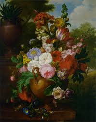 Life Of A Flower - cornelis van spaendonck a flower still life fine art flowers