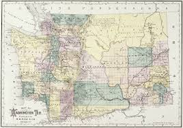 Map Of Washington State by Historical Maps Washington Council Of County Surveyors
