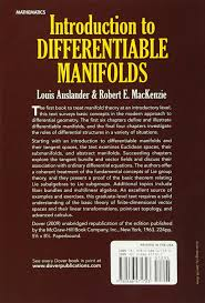 introduction to differentiable manifolds dover books on