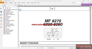 massey ferguson mf 6270 6280 6290 tractor parts catalog auto