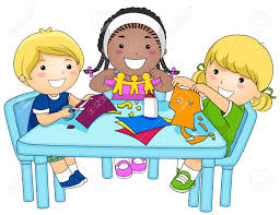 kids arts and crafts clipart