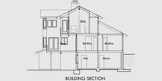 multi level floor plans view house plans sloping lot house plans multi level house plan