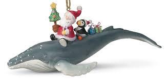 amazon com santa riding humpback whale tropical christmas
