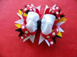 mickey mouse hair bow 100 best hair bows minnie mouse images on boutique