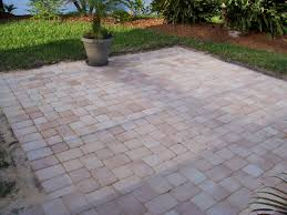 Simple Brick Patio With Circle Paver Kit Patio Designs And Ideas by Patio Pavers Paver Patios Orlando Patio Pavers