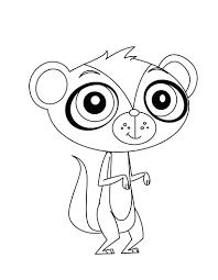 articles pet shop coloring pages panda tag littlest