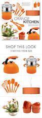 the 25 best orange kitchen designs ideas on pinterest orange