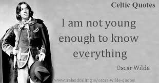 wedding quotes oscar wilde oscar wilde quotes on youth ireland calling