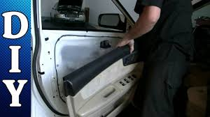 how to remove and replace a door panel and door handle 2005 thru