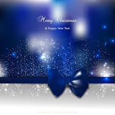merry christmas happy dark blue background