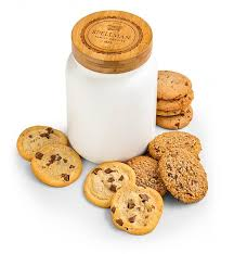 personalized cookie jars personalized cookie jar with one dozen cookies personalized