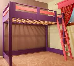 Bunk Beds  Loft Bed With Desk Queen Bunk With Desk Metal Bunk Bed - Metal bunk bed ladder