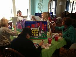 from the heart painting party kansas city skyline